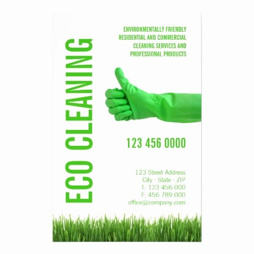 Examples Of Business Flyers Elegant Mercial Cleaning Business Flyers Examples and Samples