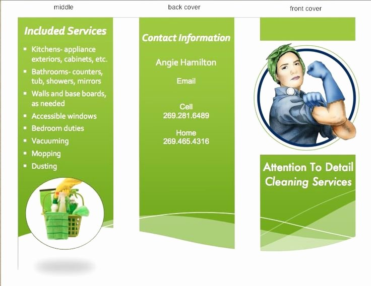 Examples Of Business Flyers Lovely 17 Best Images About Housecleaning Flyer Ideas and