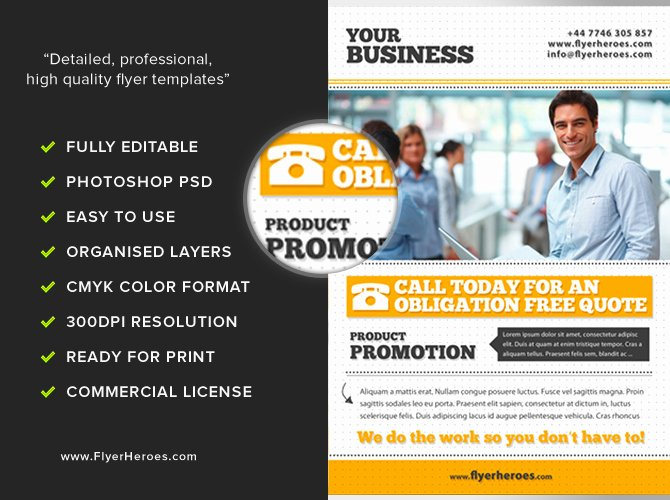 Examples Of Business Flyers New Free Business Flyer Template Flyerheroes