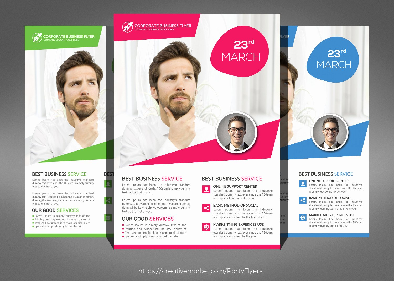 Examples Of Business Flyers Unique Creative Business Flyer
