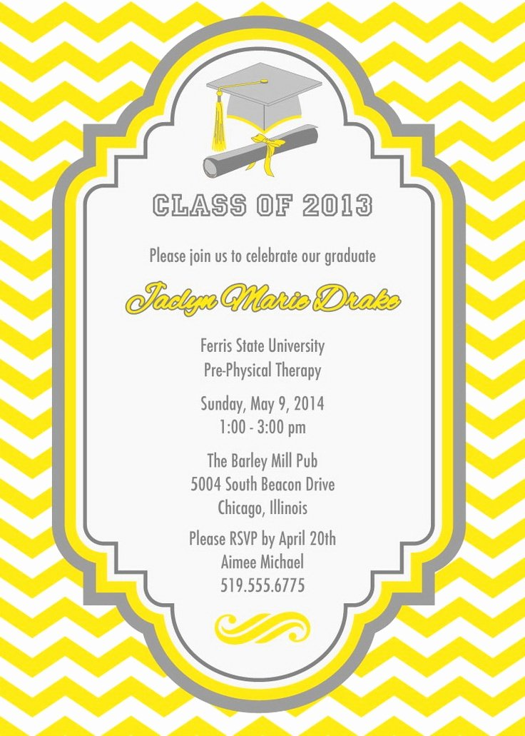 Examples Of Graduation Party Invitations Awesome 60 Best Graduation Invitation Ideas Images On Pinterest