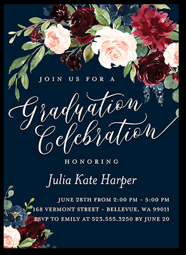 Examples Of Graduation Party Invitations Unique Graduation Invitation Wording Guide for 2019