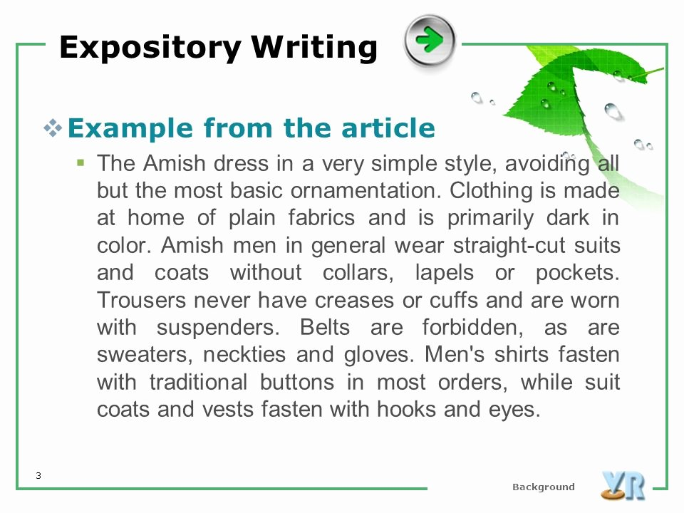 Examples Of Informative Writing Awesome What is Expository Writing Rhetorical Modes 2019 02 25