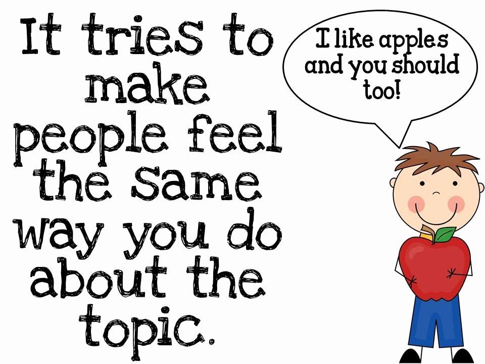 Examples Of Informative Writing Beautiful Persuasive Writing Fun In First
