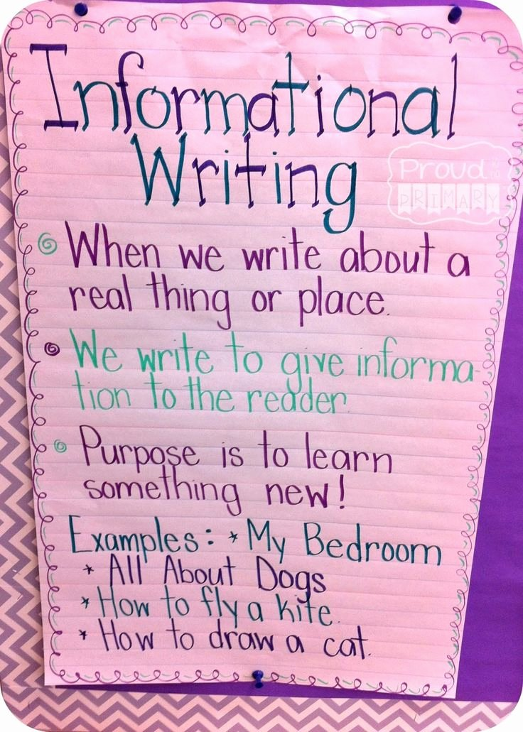 Examples Of Informative Writing Fresh Best 25 Informative Writing Ideas On Pinterest