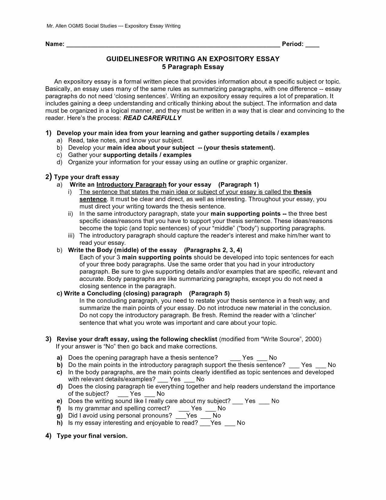 Examples Of Informative Writing Inspirational Full 5 Paragraph Essay On organic Foods