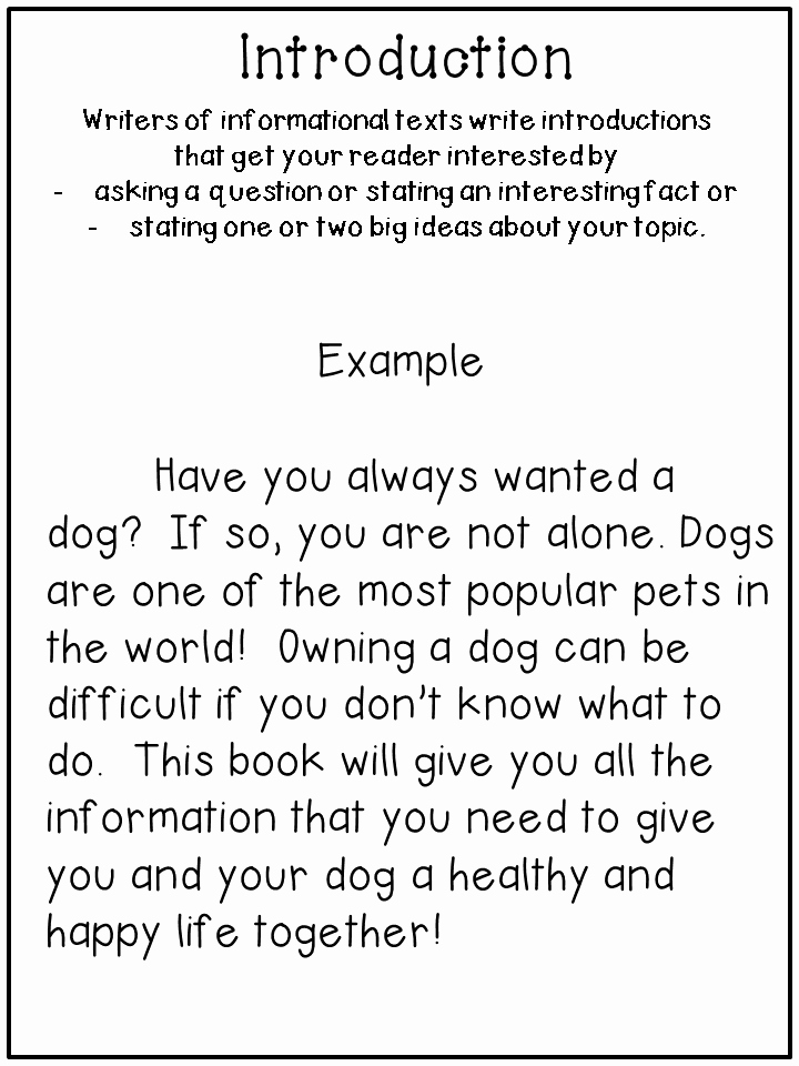 Examples Of Informative Writing Unique Writing Informational Text Step by Step Third Grade