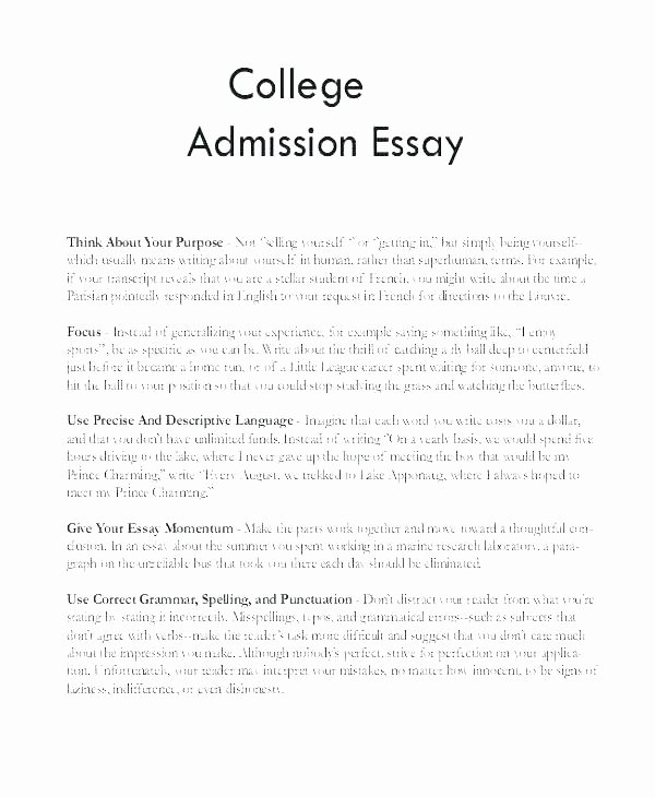 Examples Of Personal Narratives Awesome Writing A College Application Essay Narrative