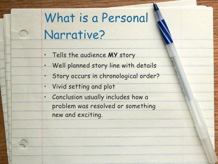Examples Of Personal Narratives Luxury Personal Narrative