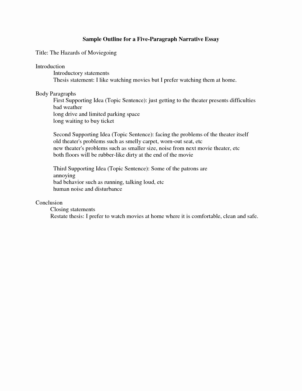 Examples Of Personal Narratives New How to Write A Narrative Essay