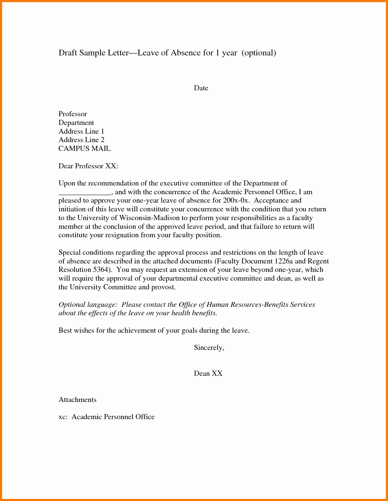Examples Of Petition Letters Unique Request Letter for Leave format School Petition Example