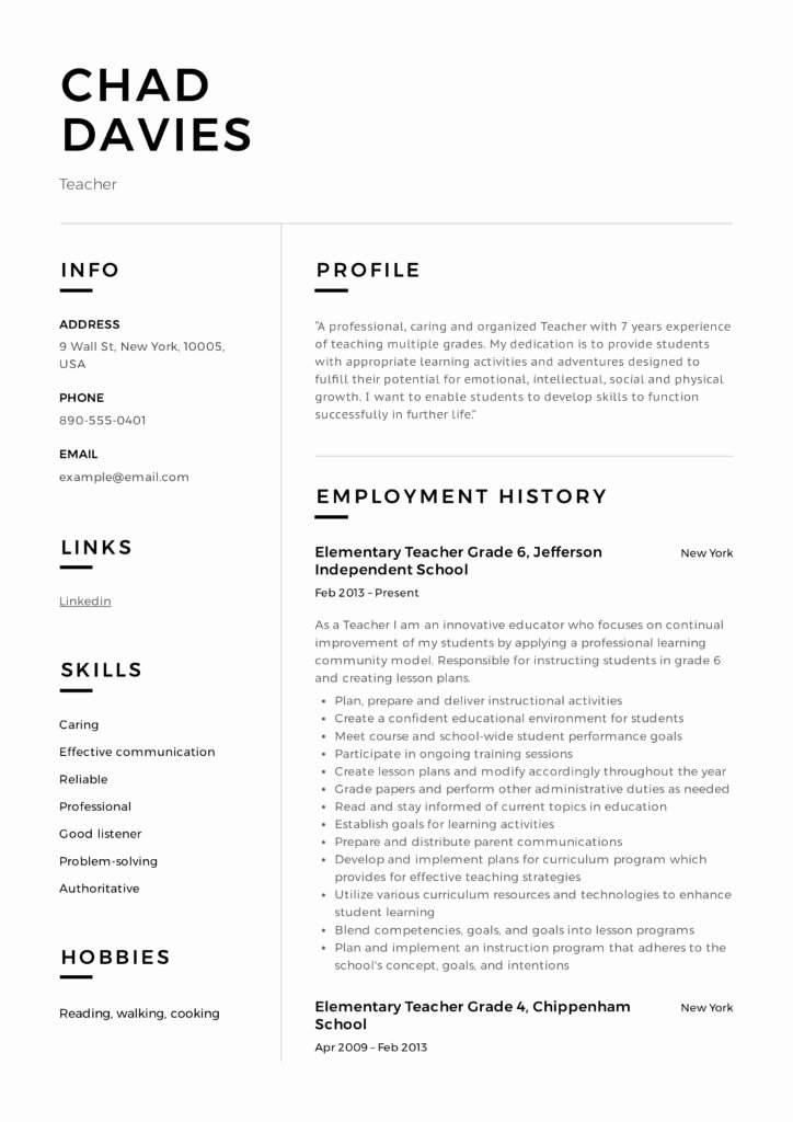 Examples Of Teaching Resumes Unique Teacher Resume & Writing Guide 12 Samples Pdf