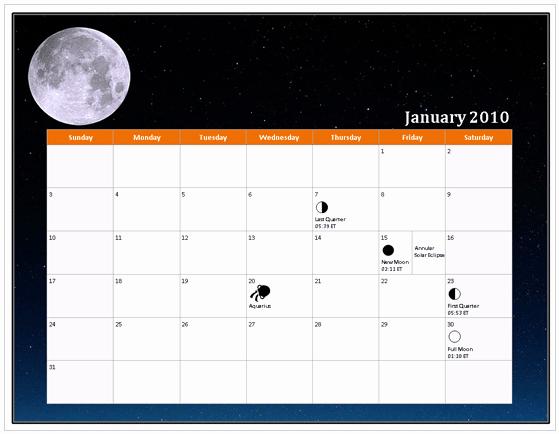 Excel 2010 Calendar Template Beautiful Download 2010 Calendar Templates for Microsoft Fice 2007