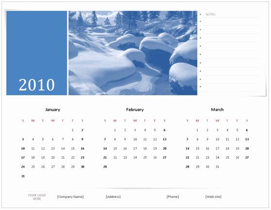 Excel 2010 Calendar Template Elegant Download 2010 Calendar Templates for Microsoft Fice 2007