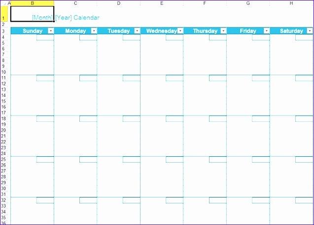 Excel 2010 Calendar Template Fresh 10 Excel 2010 Calendar Template Exceltemplates