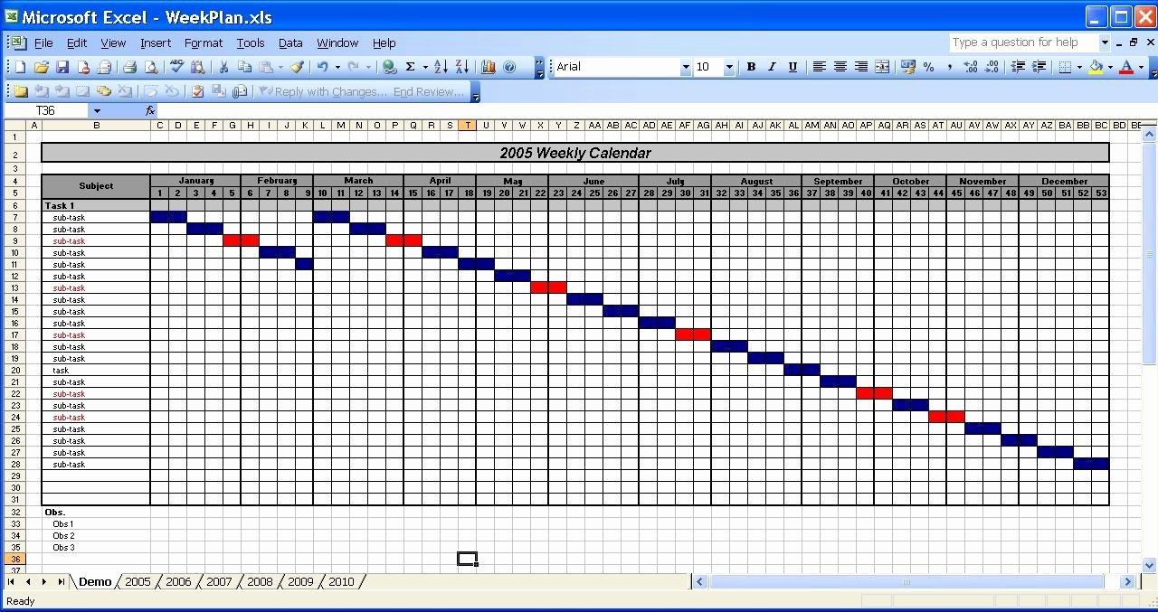 Excel 2010 Calendar Template New Ficehelp – Template – Calendar Templates 2005