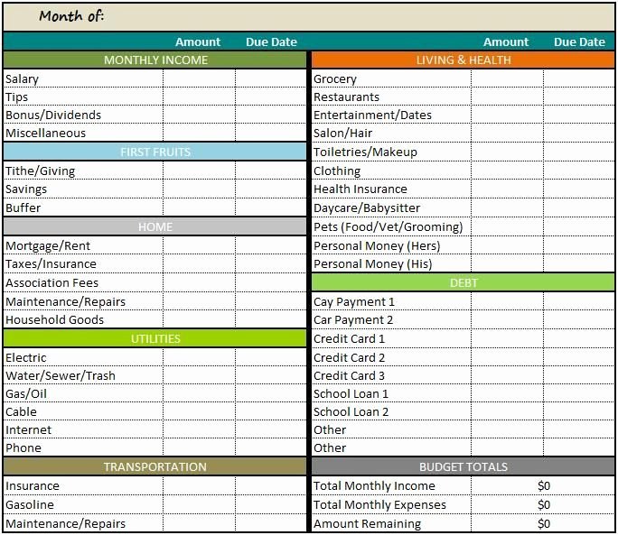 Excel Home Budget Template Inspirational Best 25 Bud Templates Ideas On Pinterest