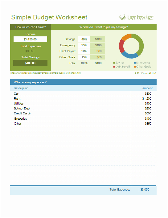 Excel Home Budget Template Inspirational Free Excel Bud Template Collection for Business and