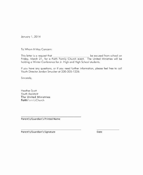 Excuse Note for School Template Awesome School Excuse Letter – Laustereo