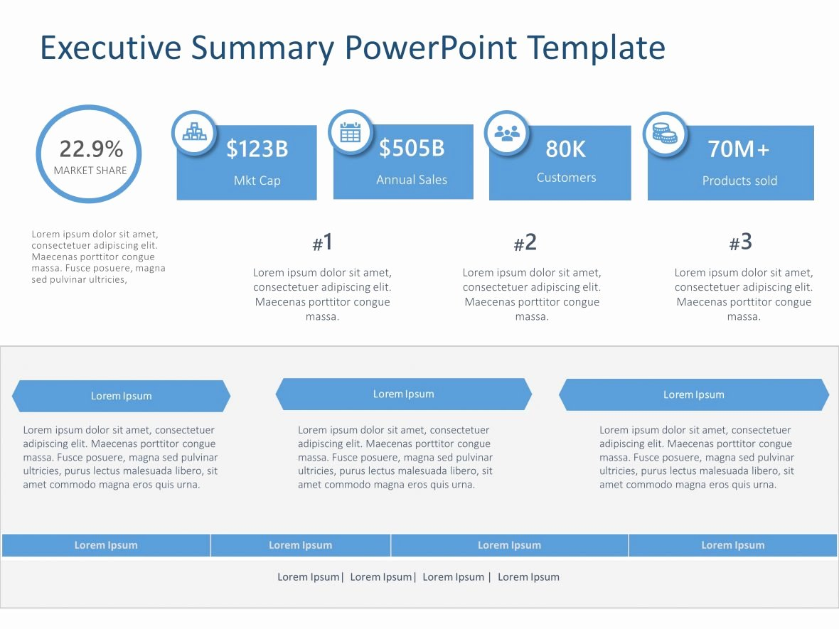 Executive Summary Ppt Template Beautiful Executive Summary Powerpoint Template 40