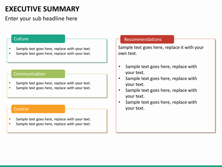 Executive Summary Ppt Template Beautiful Executive Summary Powerpoint Template