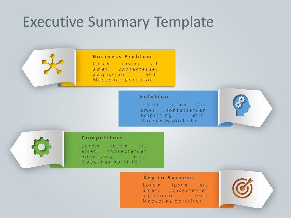Executive Summary Ppt Template Fresh Executive Summary Powerpoint Template 9