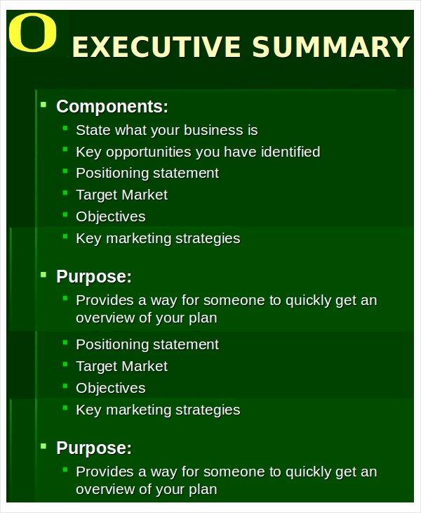 Executive Summary Ppt Template Luxury 20 Executive Summary Templates