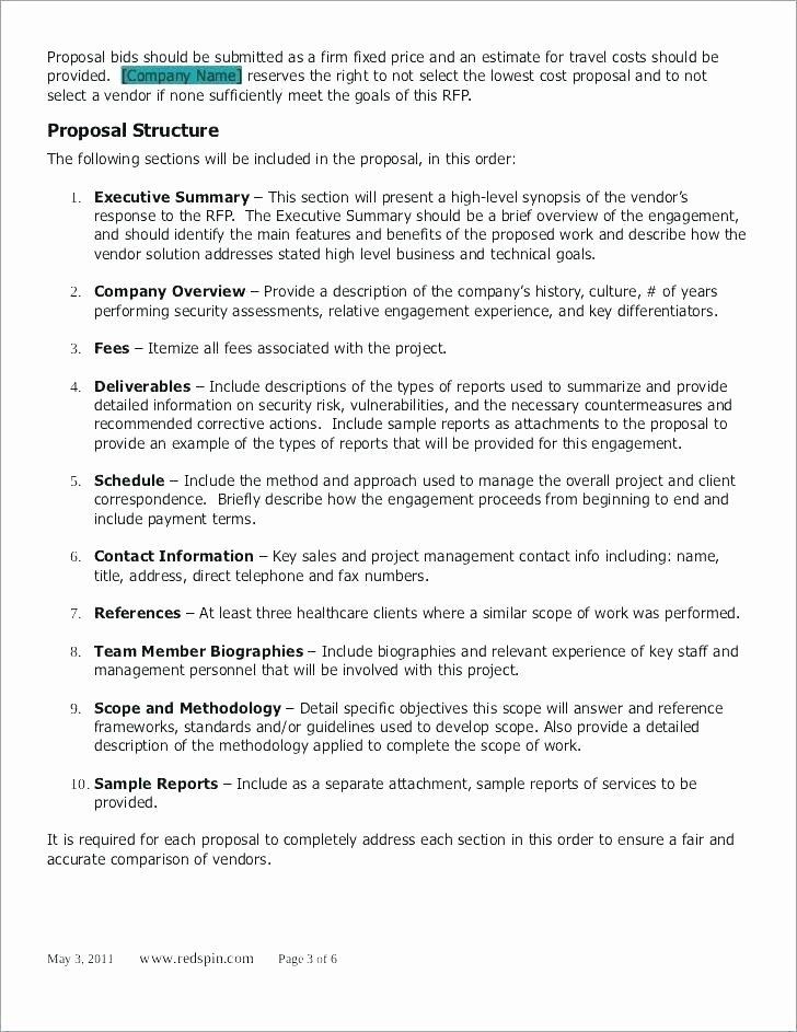 Executive Summary Template for Report Best Of 11 12 Executive Summary Sample for Project Report