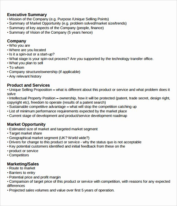 Executive Summary Template for Report Fresh Management Executive Summary Examples