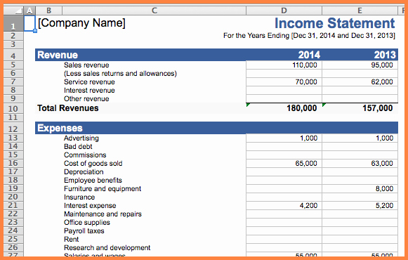 Expense and Income Spreadsheet Awesome 5 Business Expense and In E Spreadsheet