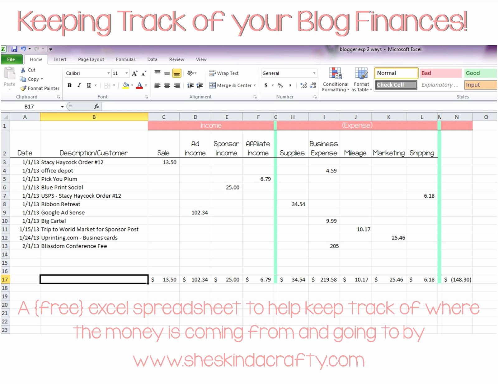 Expense and Income Spreadsheet Best Of Keep On Track