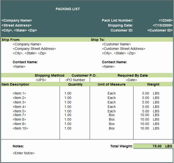 Export Packing List Template New 24 Packing List Templates Pdf Doc Excel