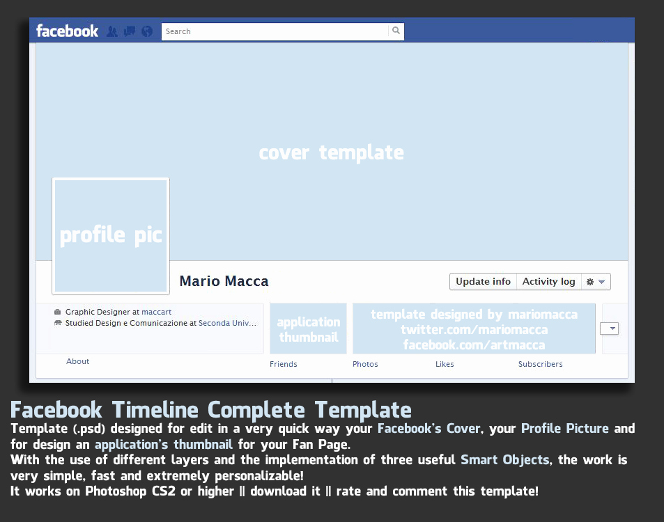 Facebook Timeline Cover Template Awesome Timeline Cover Template Version 1 2 – Over