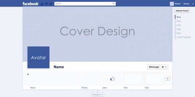 Facebook Timeline Cover Template Best Of All New Psd for Timeline Cover Mock Up 2013
