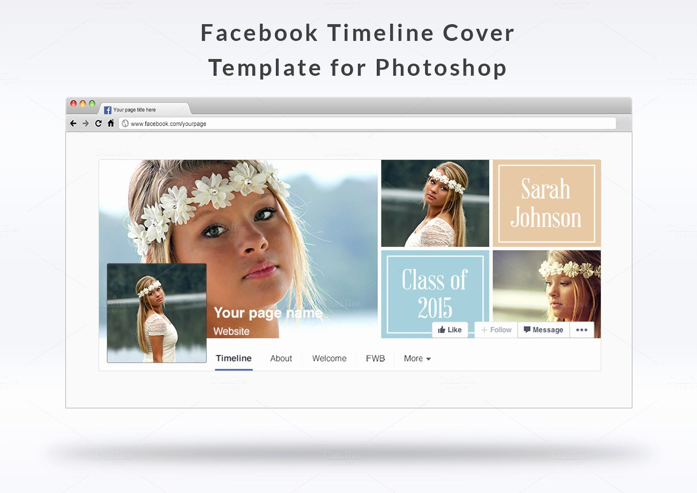Facebook Timeline Cover Template Best Of Timeline Cover Template Templates On Creative