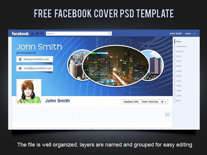 Facebook Timeline Cover Template Elegant 19 Splendorous Timeline Covers Psd Templates