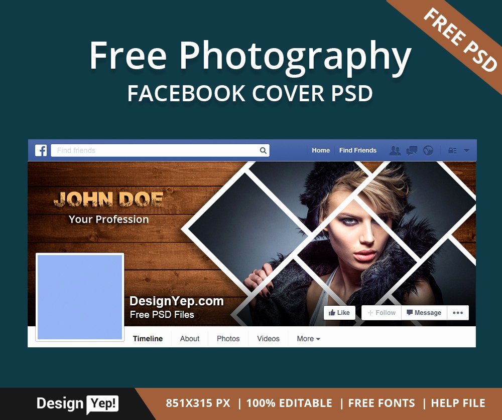 Facebook Timeline Cover Template Luxury Free Graphy Timeline Cover Psd Template