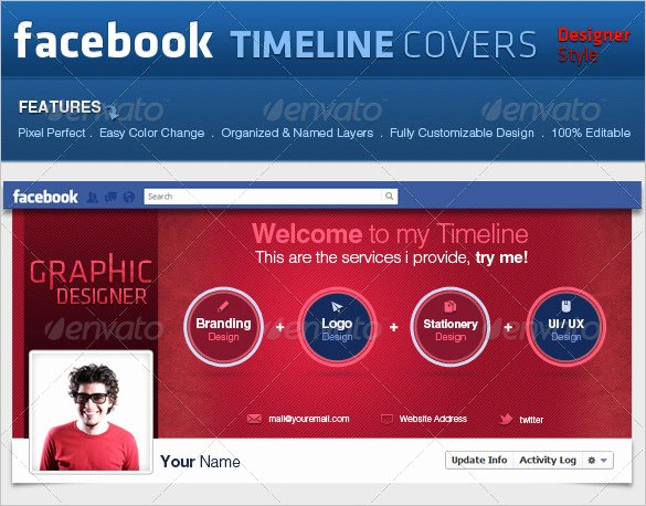 Facebook Timeline Covers Templates Awesome 9 Psd Timeline Cover Templates