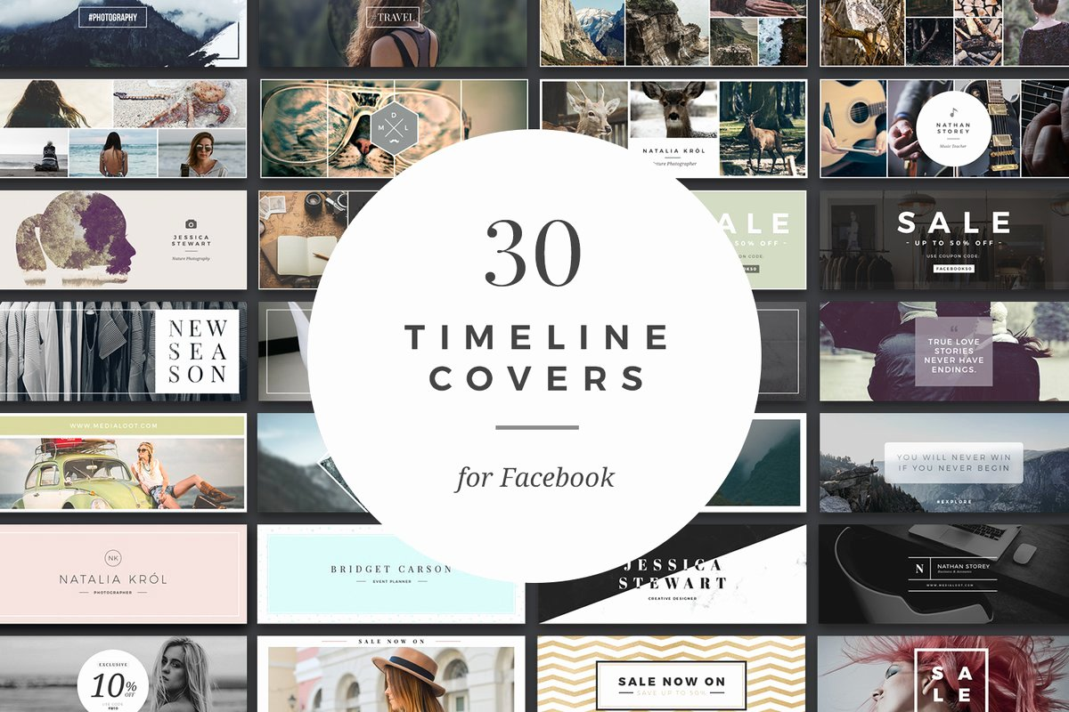 Facebook Timeline Covers Templates Fresh Timeline Covers — Medialoot