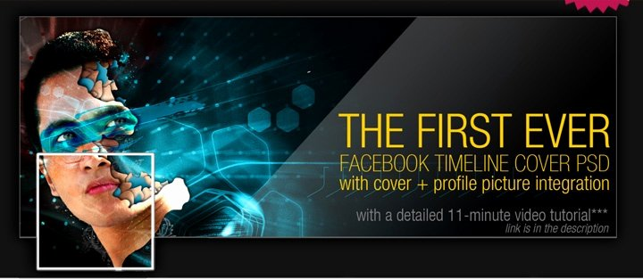 Facebook Timeline Covers Templates Inspirational Free Cover Psd