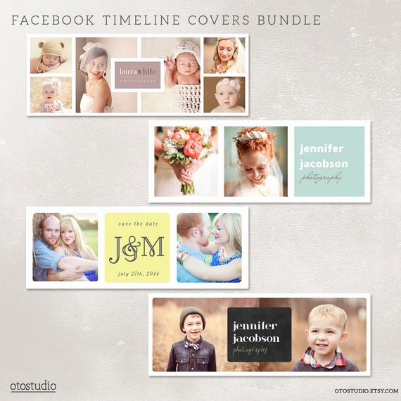 Facebook Timeline Covers Templates Inspirational Items Similar to Timeline Cover Templates Bundle