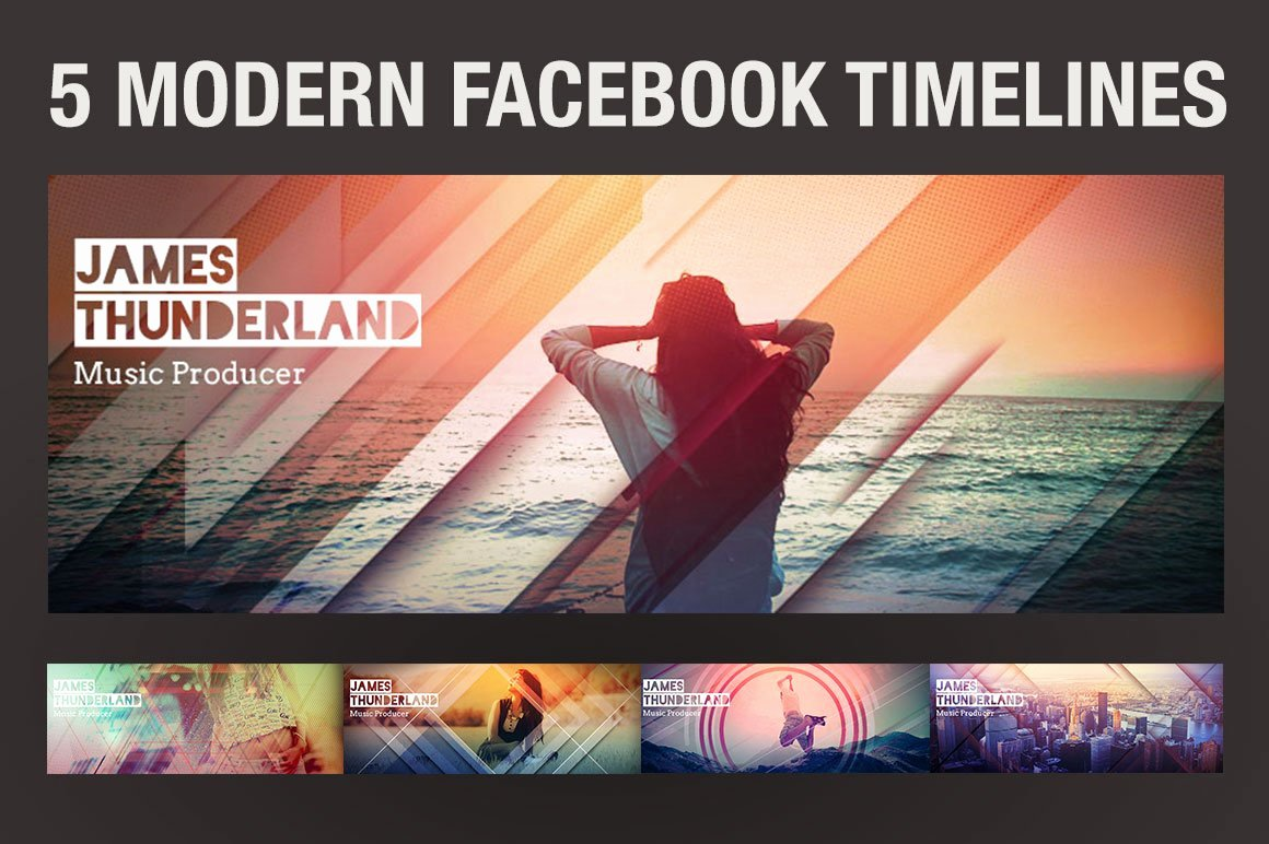 Facebook Timeline Covers Templates Luxury 5 Modern Timeline Covers Templates