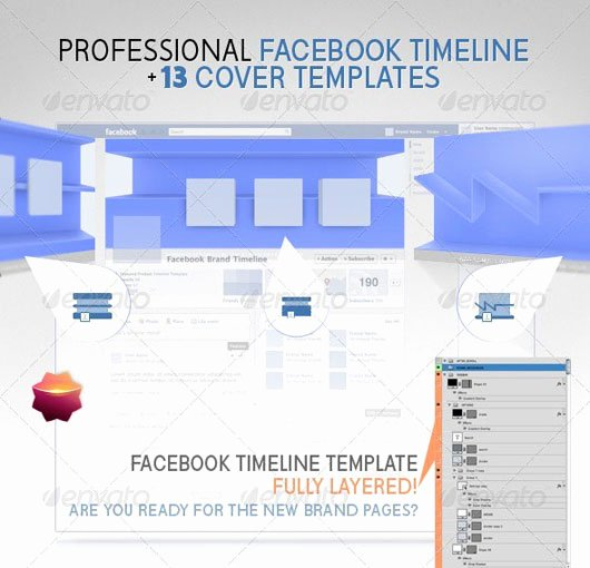 Facebook Timeline Covers Templates Luxury 60 High Quality Timeline Cover Psd Templates