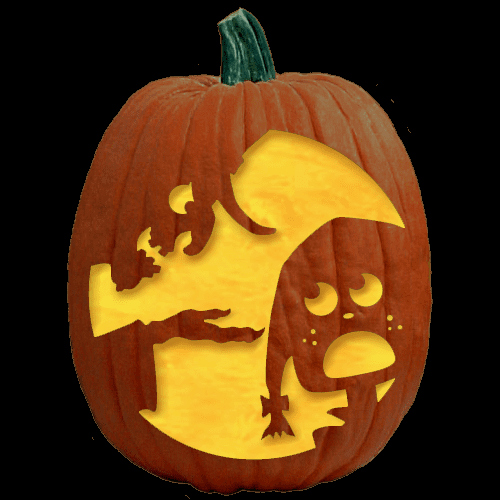 Fairy Pumpkin Carving Patterns Lovely the tooth Fairy Pumpkin Carving Pattern the Pumpkin Lady