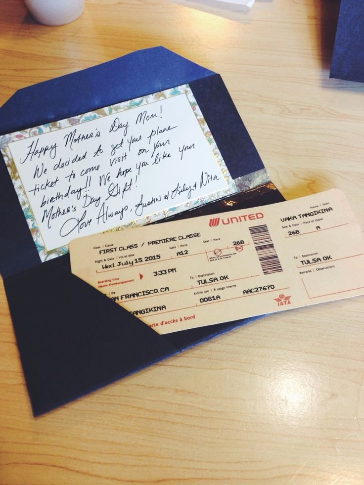 Fake Airline Ticket Gift Best Of 8 Best Card Gift Ideas Images On Pinterest