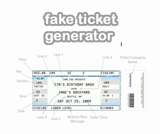 Fake Airline Ticket Gift Fresh Fake Ticket Generator Create Your Very Own Novelty