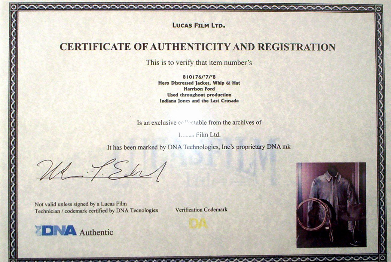 Fake Certificate Of Authenticity Inspirational Certificate Authenticity Wording