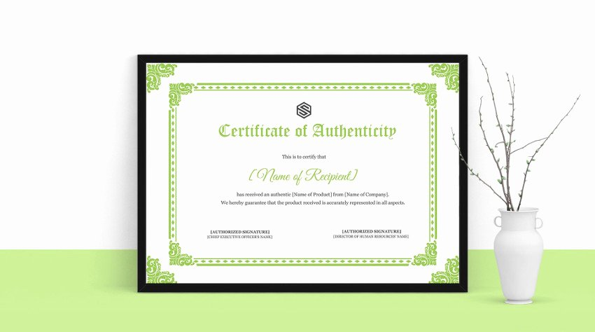 Fake Certificate Of Authenticity Inspirational Everything You Need to Know About the Certificate Of