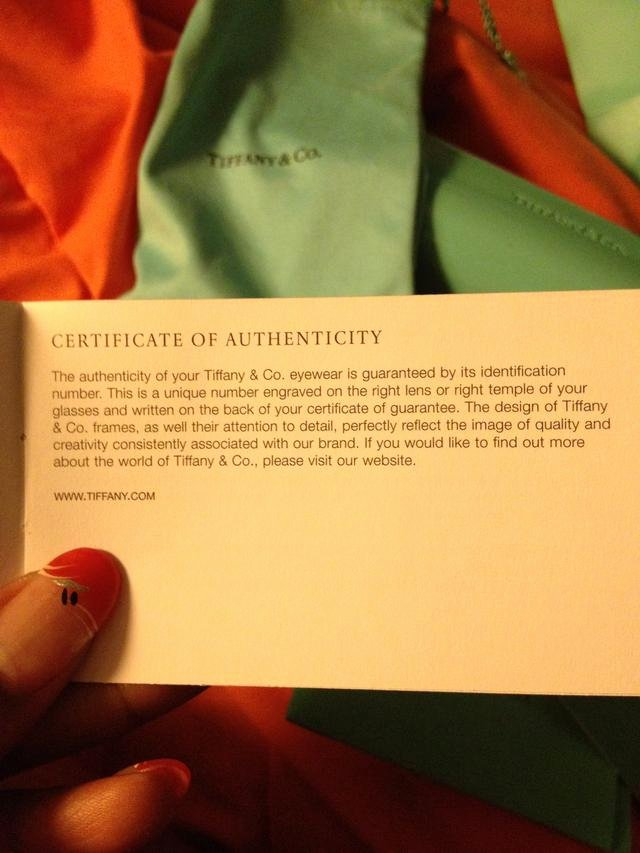 Fake Certificate Of Authenticity Inspirational How to Identify Real Tiffany Snapguide