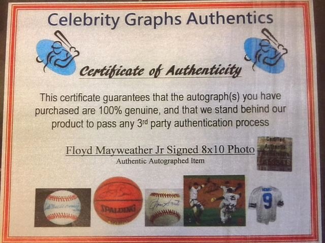 Fake Certificate Of Authenticity Unique Autograph Fraud Nets 6 Year Prison Sentence